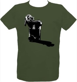Tresnormale T-Shirt Enfant Raton Tresnormale Vert Olive