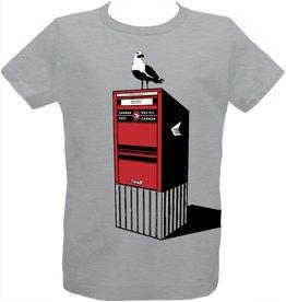 Tresnormale T-Shirt Enfant Seagull Tresnormale Gris