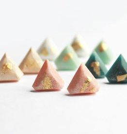 Bijoux Pepine Boucles d'oreilles Diamant Bijoux Pépine Rose Pastel