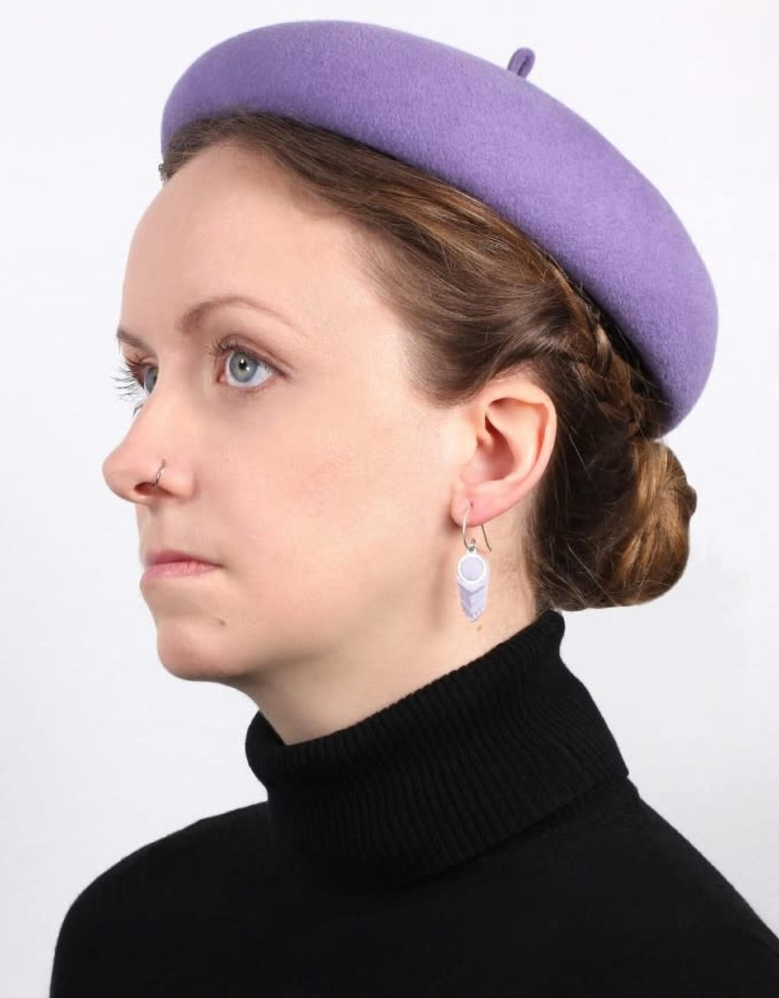 Bijoux Pepine Boucles d'oreilles Panache Lilas Bijoux Pépine