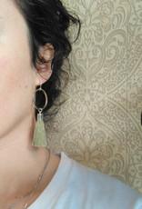 CartoucheMTL Boucles d'oreilles Jade CartoucheMTL Vert Pâle