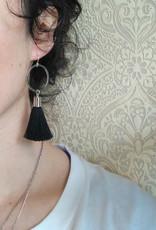 CartoucheMTL Boucles d'oreilles Jade CartoucheMTL Noir