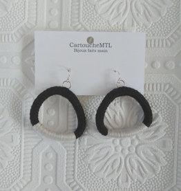 CartoucheMTL Boucles d'oreilles Odile CartoucheMTL Crèmes