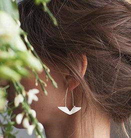 La Manufacture Boucles d'oreilles Delta La Manufacture Argent