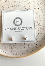 La Manufacture Boucles d'oreilles Viviane La Manufacture Studs Argent