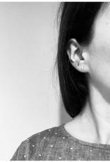 La Manufacture Boucles d'oreilles Mini-Ligne La Manufacture Studs Argent