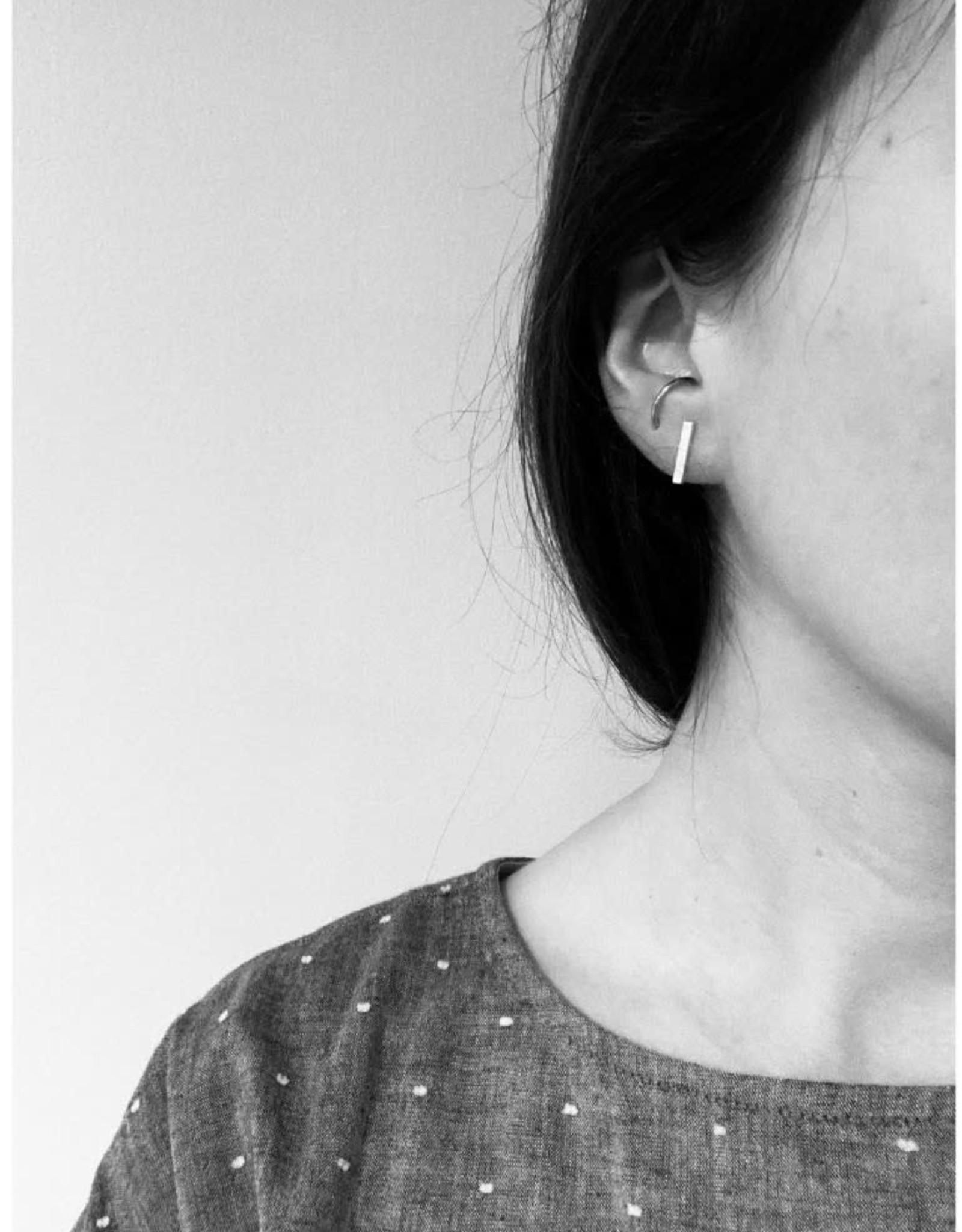 La Manufacture Boucles d'oreilles Ligne La Manufacture Studs Argent