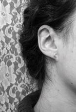 La Manufacture Boucles d'oreilles Lunes La Manufacture Studs Argent
