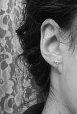 La Manufacture Boucles d'oreilles Mini-Taureaux La Manufacture Studs Argent