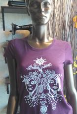 Sonambula T-Shirt THEIR Femme  Sonambula Bourgogne