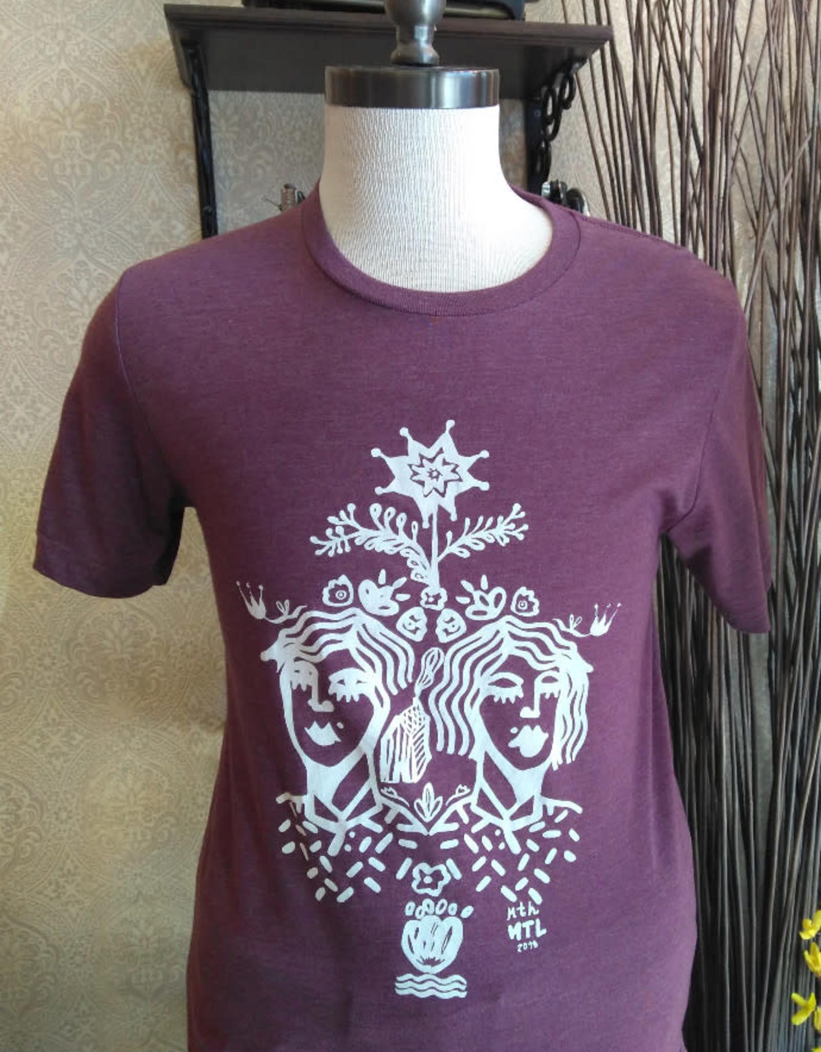 Sonambula T-Shirt THEIR Homme Sonambula Bourgogne