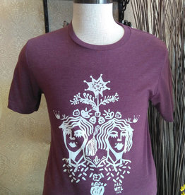 Sonambula T-Shirt Homme Sonambula Bourgogne