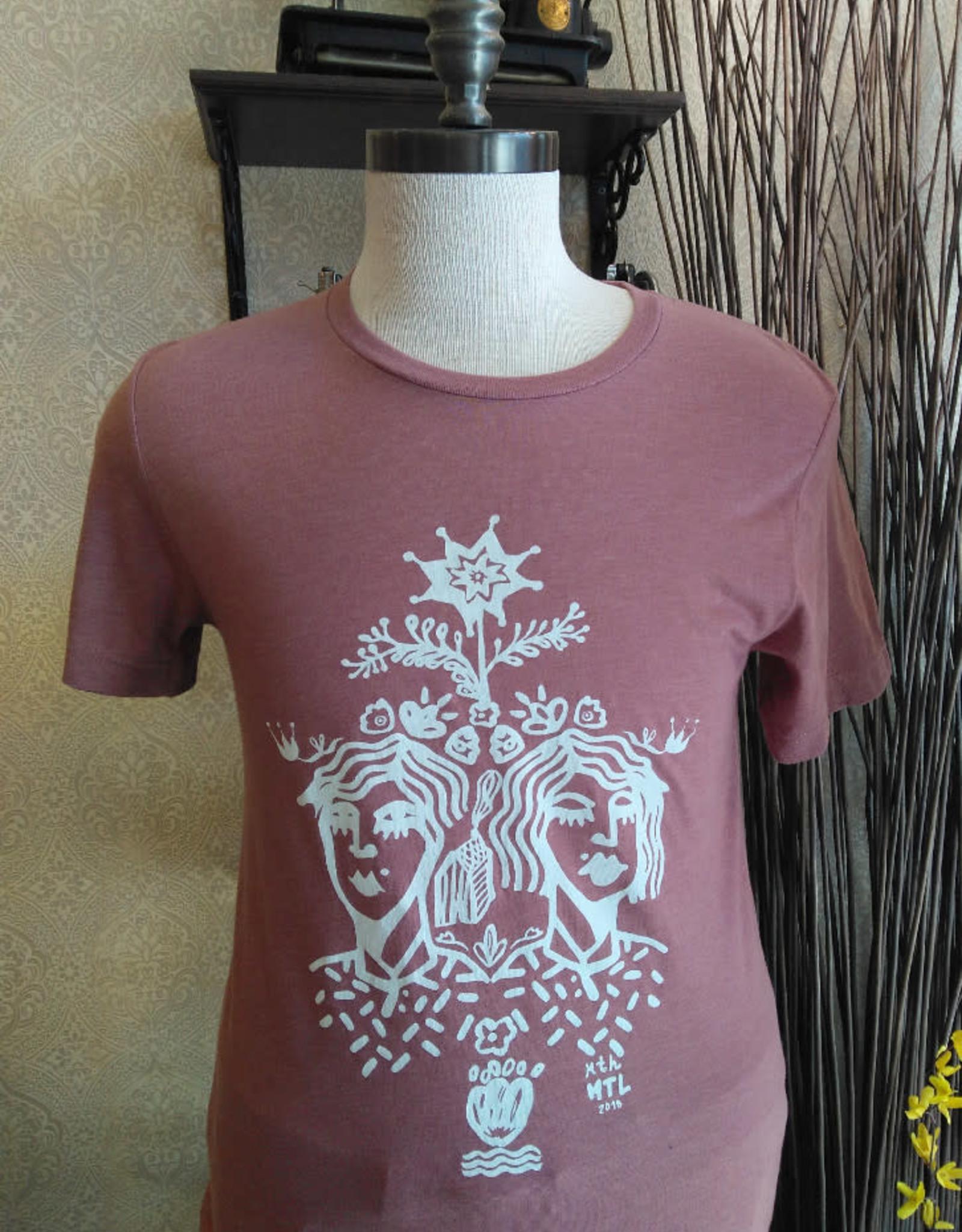 Sonambula T-Shirt THEIR Homme Sonambula Vieux Rose