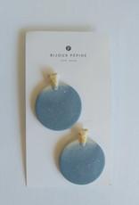 Bijoux Pepine Boucles d'oreilles Ulu Bleu ciel Bijoux Pépine