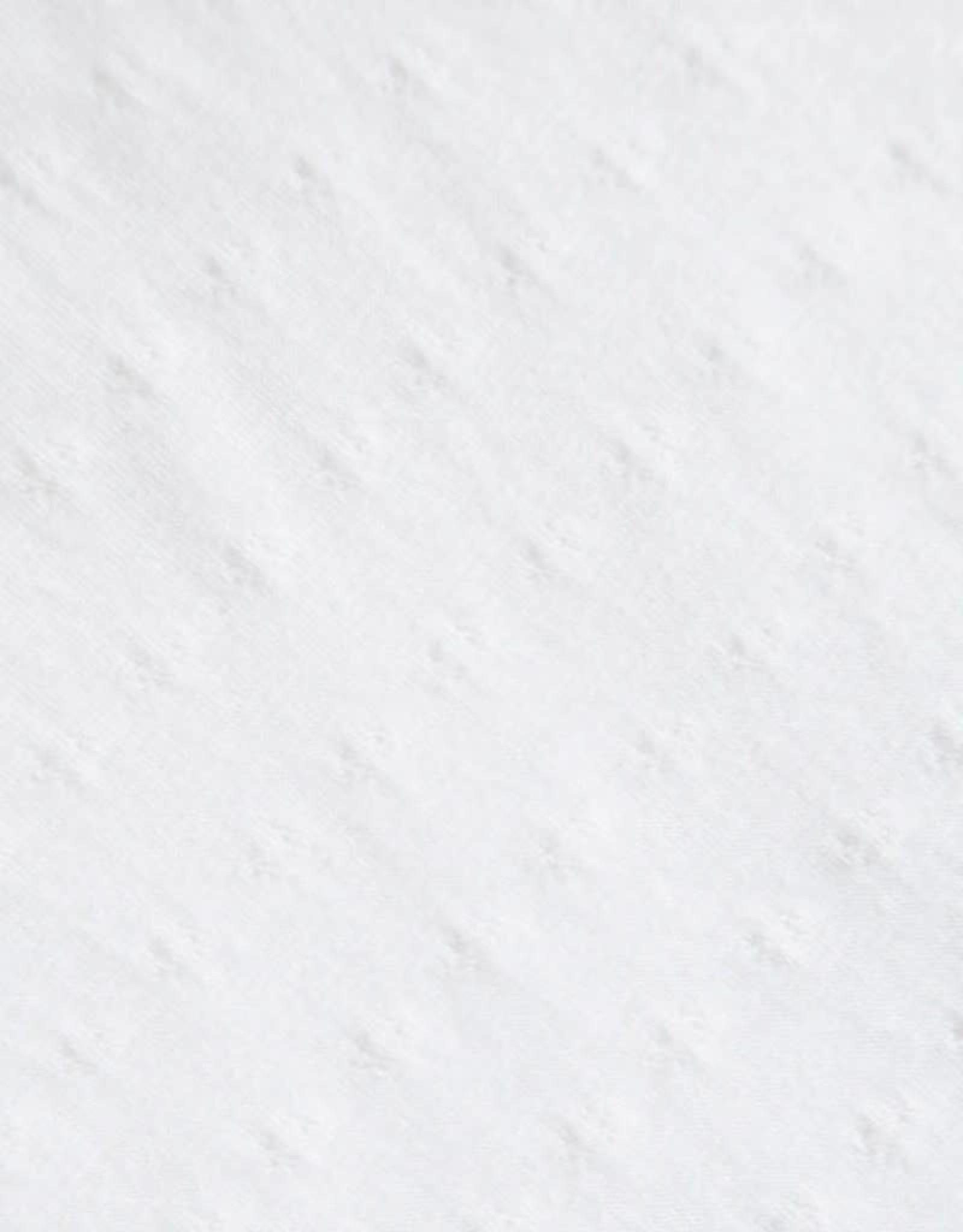 Meemoza Culotte Taille Régulière Meemoza Jacquard Fleuri Blanc