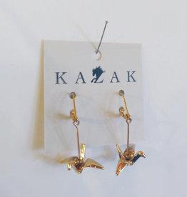 Kazak Boucles d'oreilles Grue PE20 Kazak