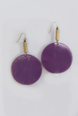 Darlings of Denmark Boucles d'oreilles Flümme Darlings of Denmark Mauve