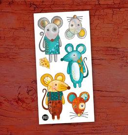 Pico Tatouage Pico Tatoo Mimi la souris et ses amis