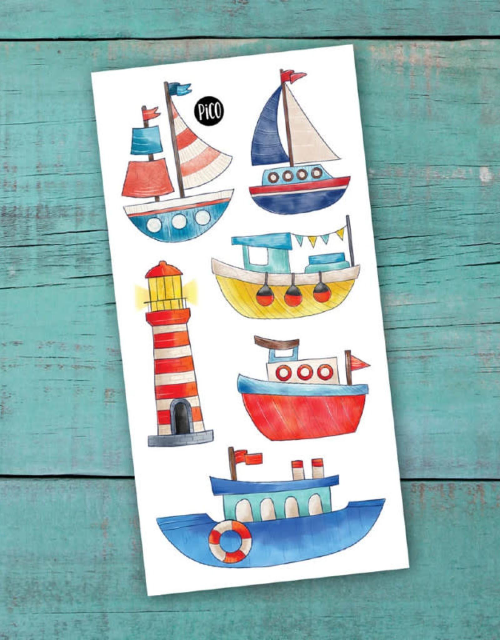 Pico Tatouage Pico Tatoo Vogue mon bateau