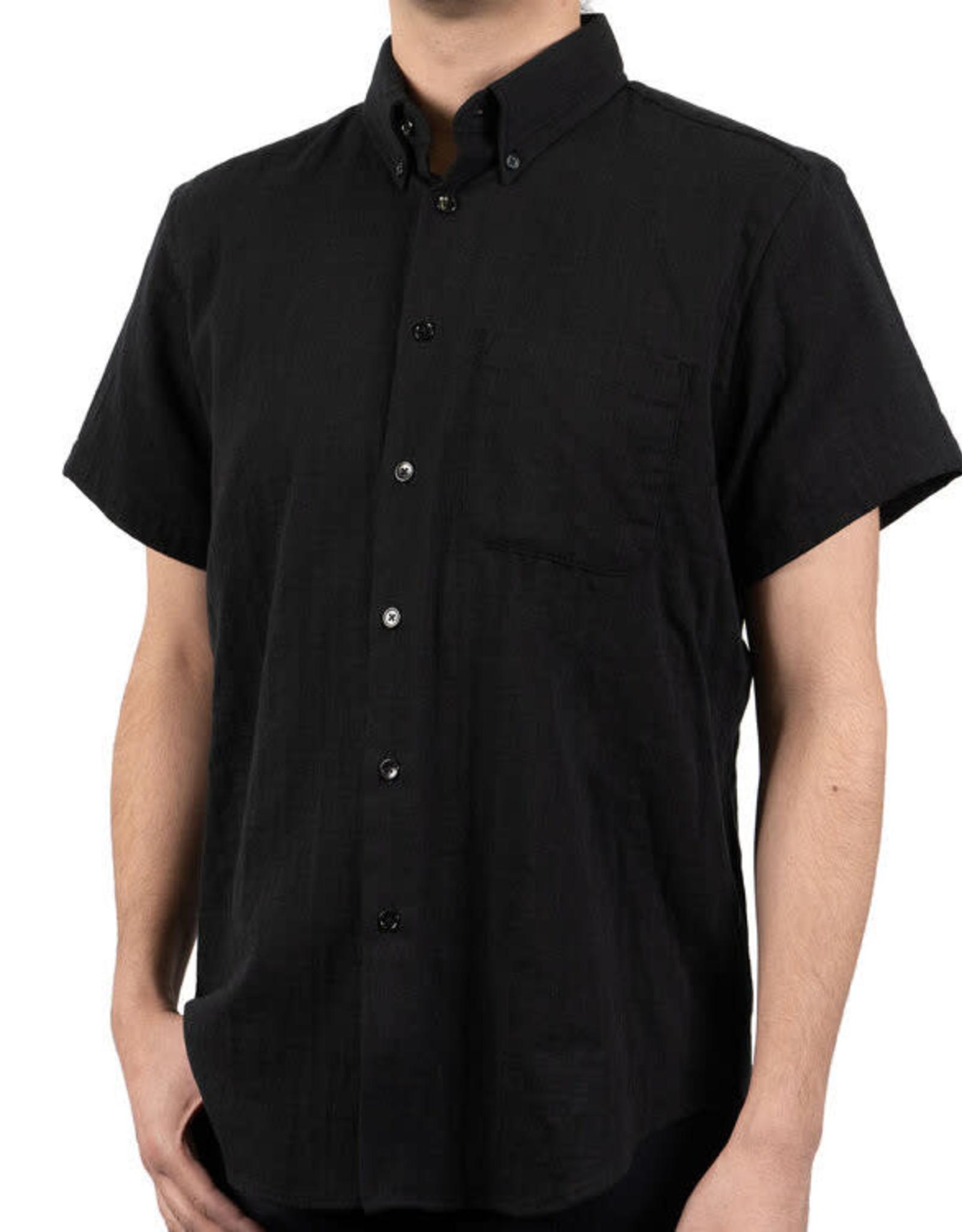 Naked and Famous Easy Shirt PE20 Naked & Famous Double Weave Gauze Black