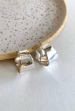 La Manufacture Boucles d'oreilles Suzanne La manufacture Argent