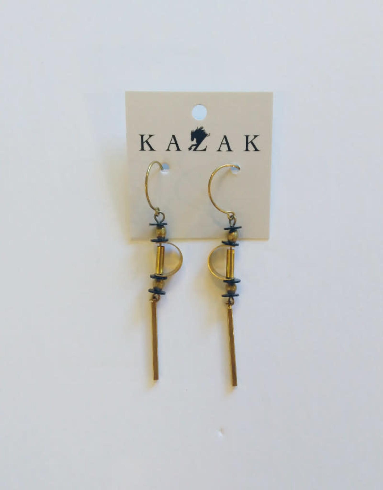 Kazak Boucles d'oreilles Ceres PE18 Kazak  Noir