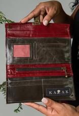 Kazak Porte Feuille Josephine PE19 Kazak Taupe/Cerise