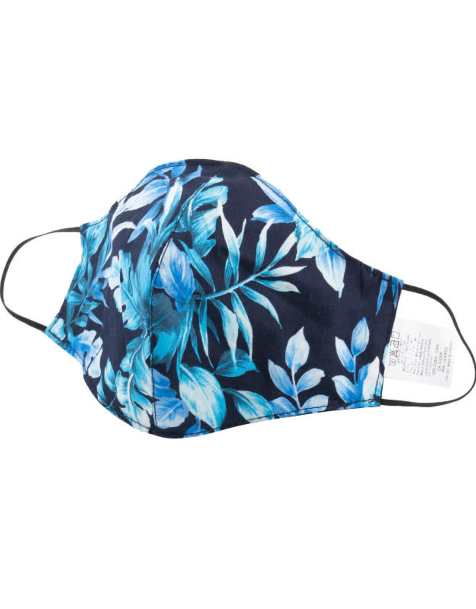 Naked and Famous Masque de protection Naked & Famous Tropical Print Navy