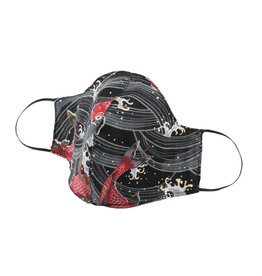 Naked and Famous Masque de protection Naked & Famous Koi Fish Black