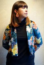 Les Coureurs de Jupons Veste Courte AH1920 Les Coureurs de Jupons Kimono Velvet