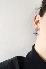 CartoucheMTL Boucles d'oreilles Rachel CartoucheMTL Bleu