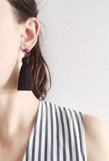 CartoucheMTL Boucles d'oreilles Béatrice CartoucheMTL Noir