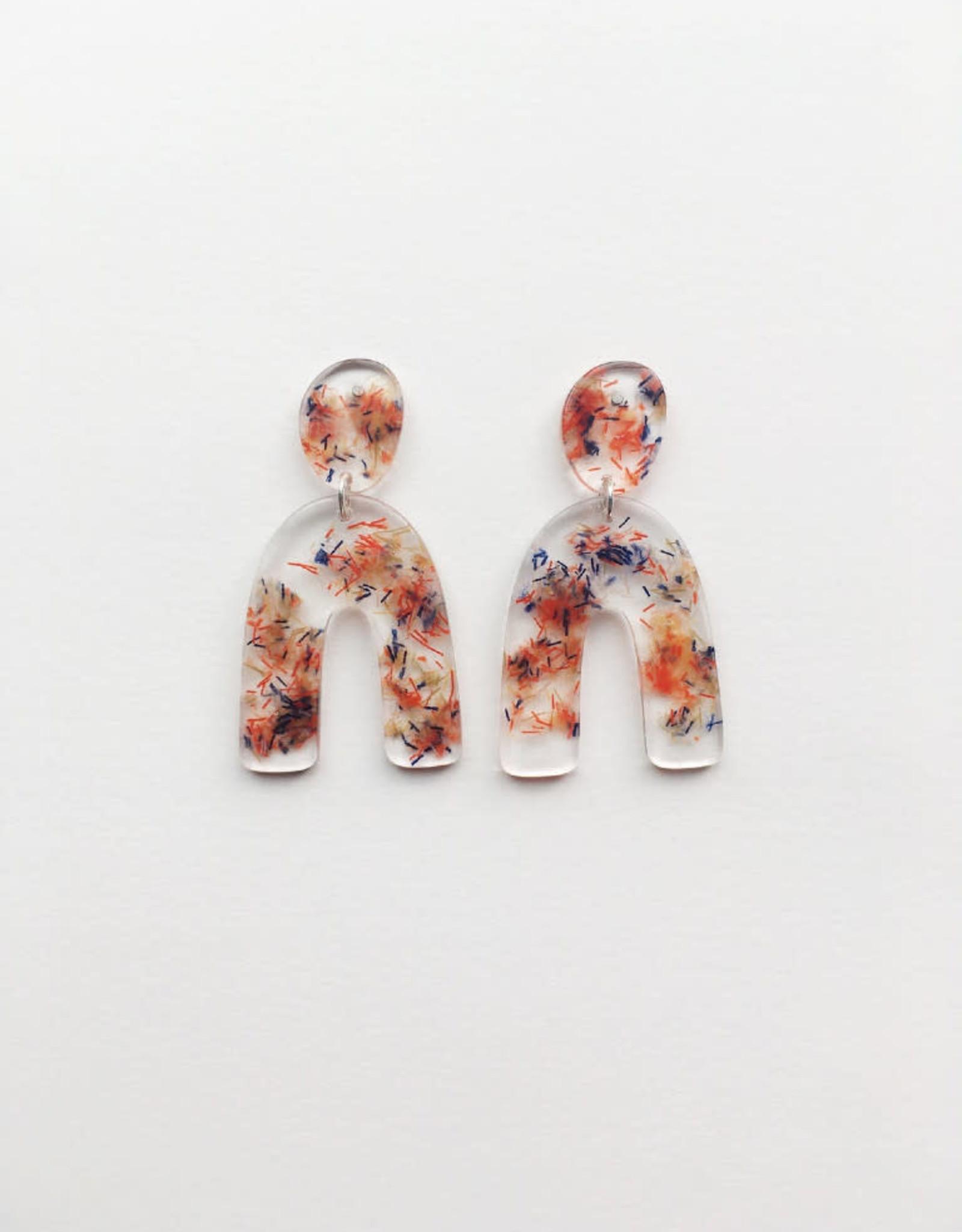 CartoucheMTL Boucles d'oreilles Clémence CartoucheMTL Multicolore