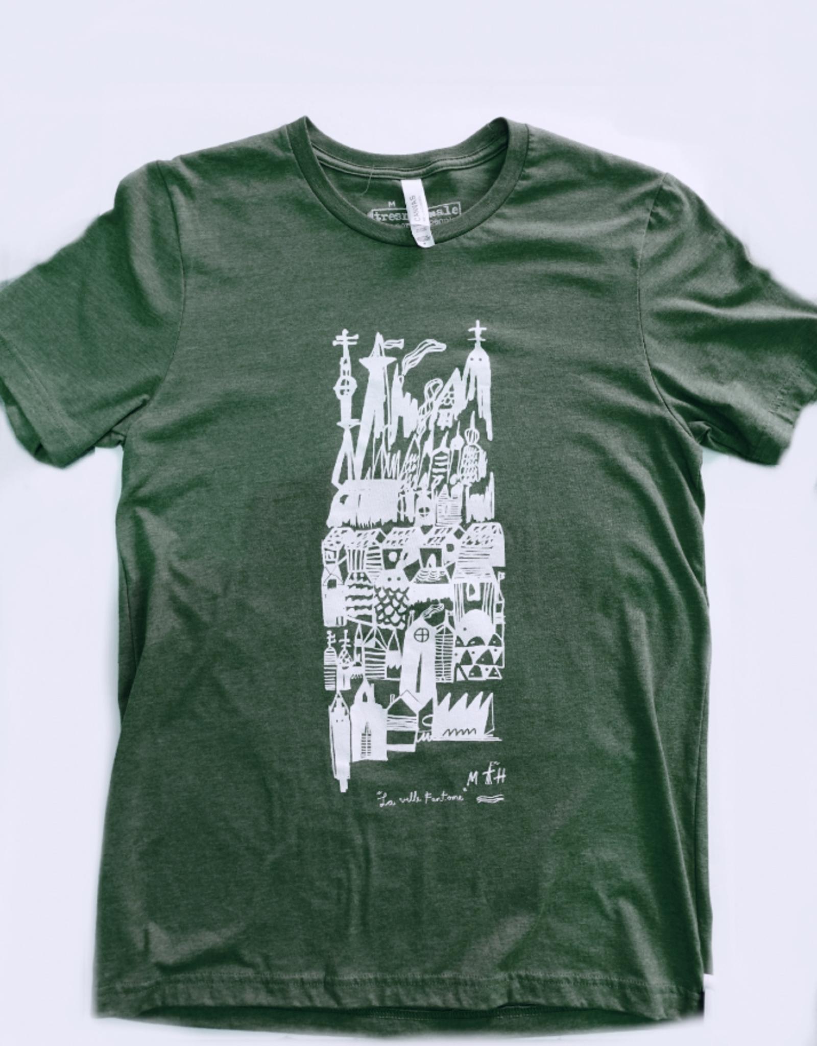 Sonambula T-shirt Ville Fantôme Sonambula Homme Vert Forêt