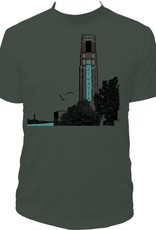 Tresnormale T-Shirt Homme Tresnormale Marche Atwater Forêt Chiné