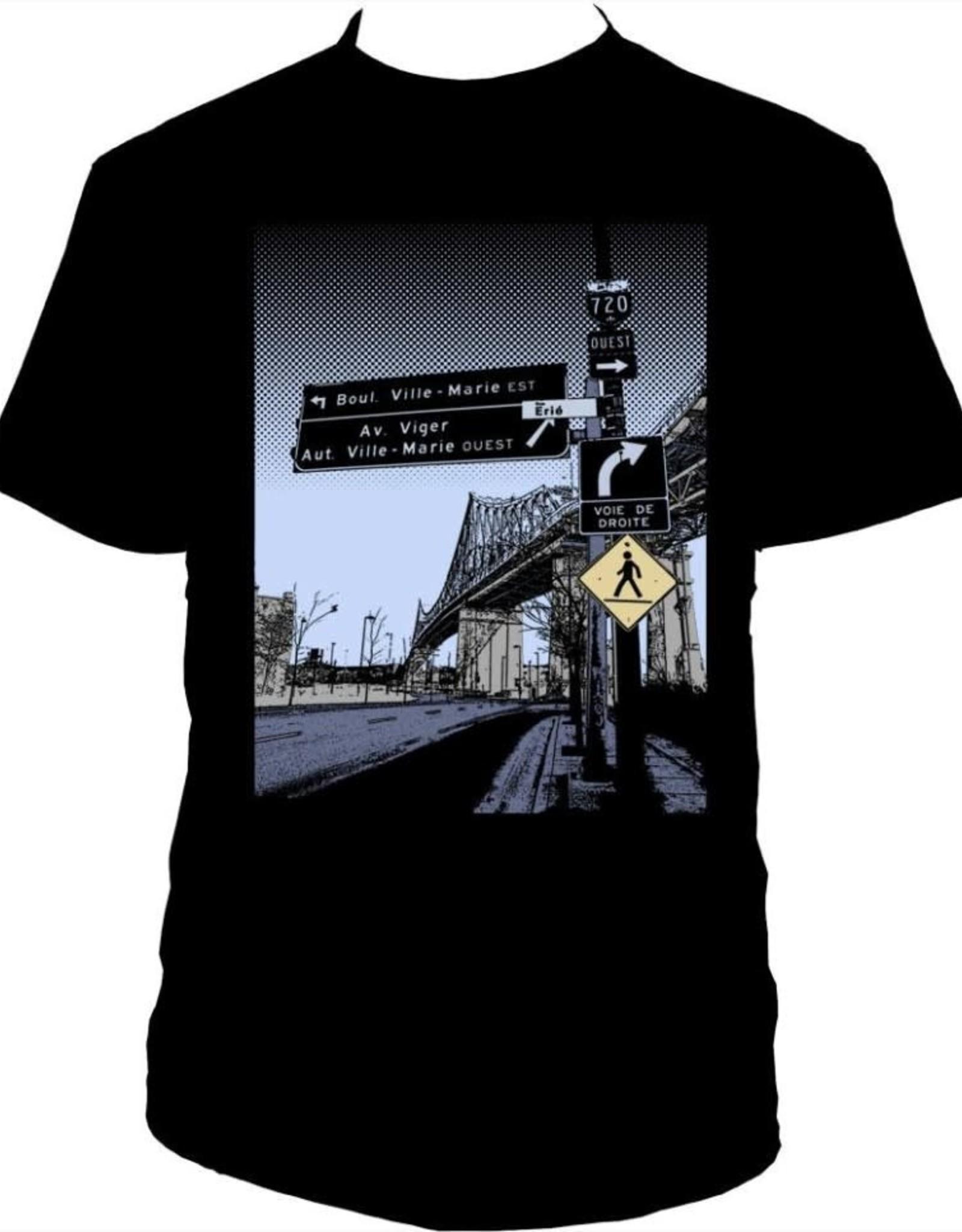 Tresnormale T-Shirt Homme Tresnormale Pont Jacques-Cartier