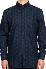Naked and Famous Easy Shirt AH2021 Naked & Famous Kimono Pattern Dark Blue