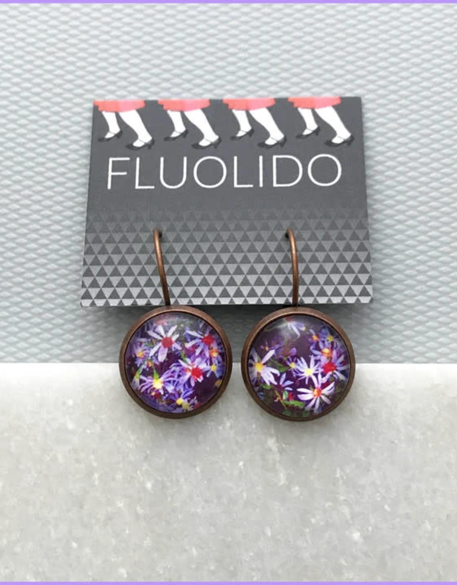 Fluolido Boucles d'oreilles Micro Fluolido Jardins (Cuivre)