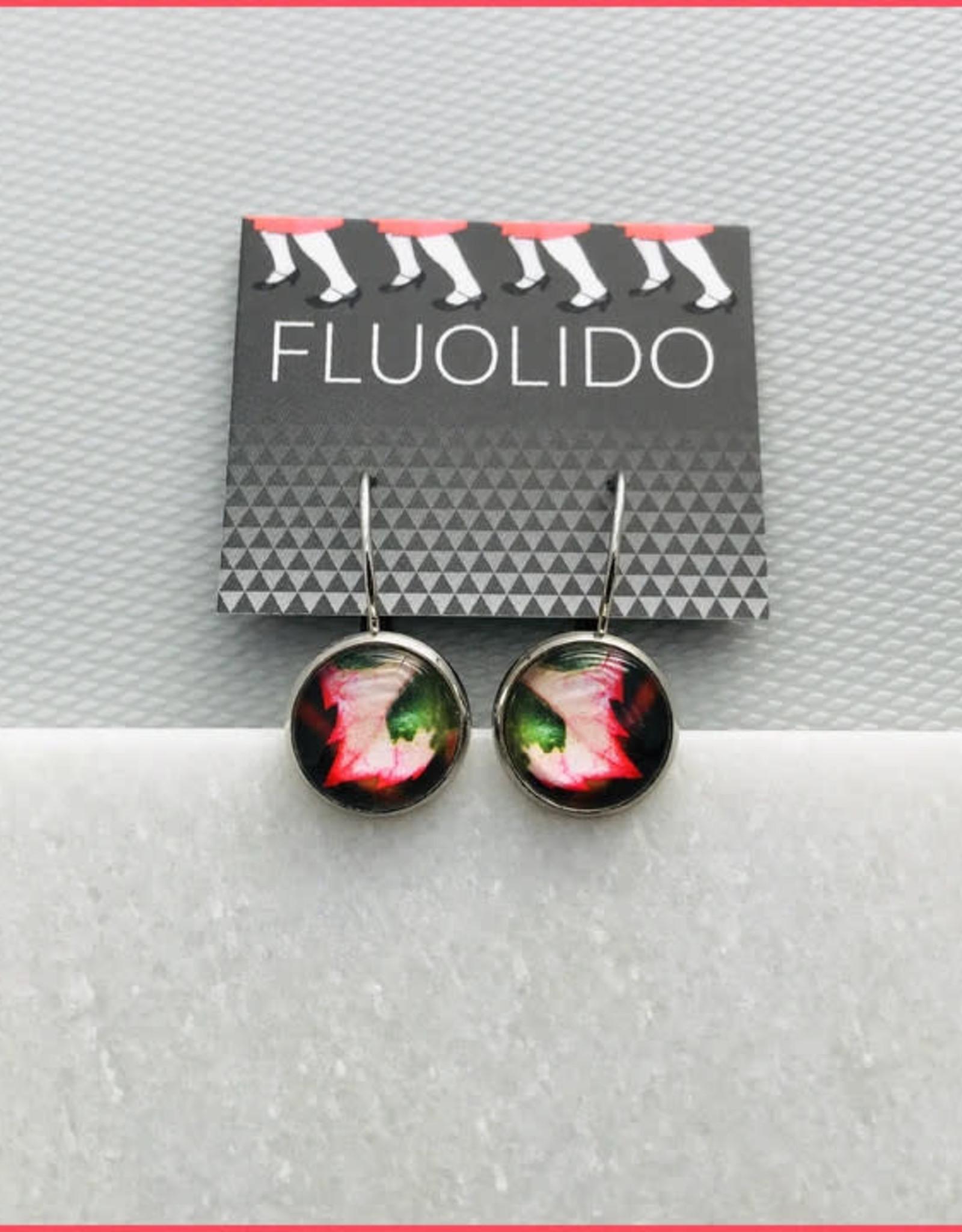 Fluolido Boucles d'oreilles Micro Fluolido Fluo