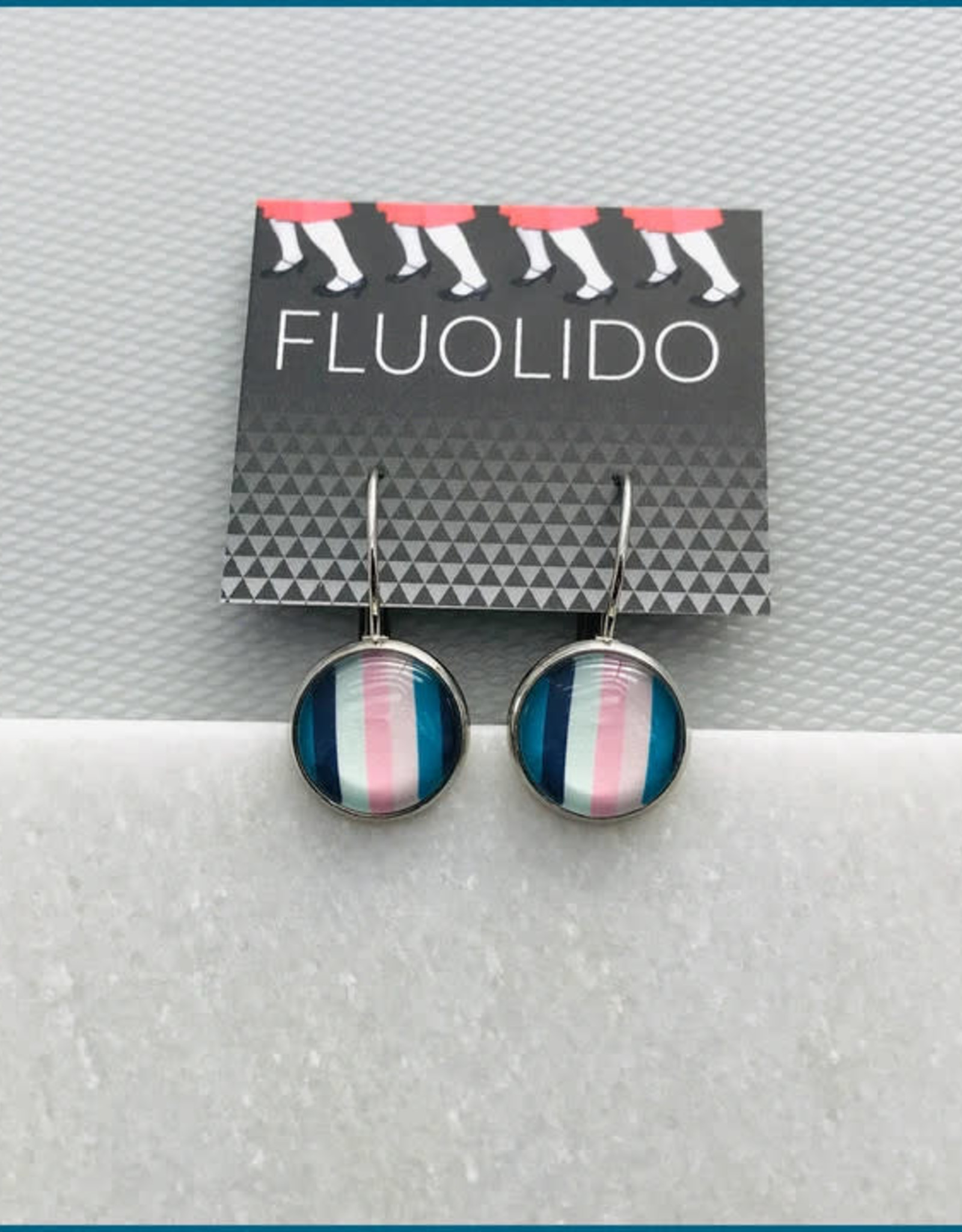 Fluolido Boucles d'oreilles Micro Fluolido Sweet