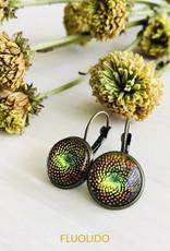Fluolido Boucles d'oreilles Micro Fluolido Cosmos (Bronze)
