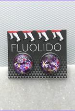 Fluolido Boucles d'oreilles Stud Fluolido Jardins