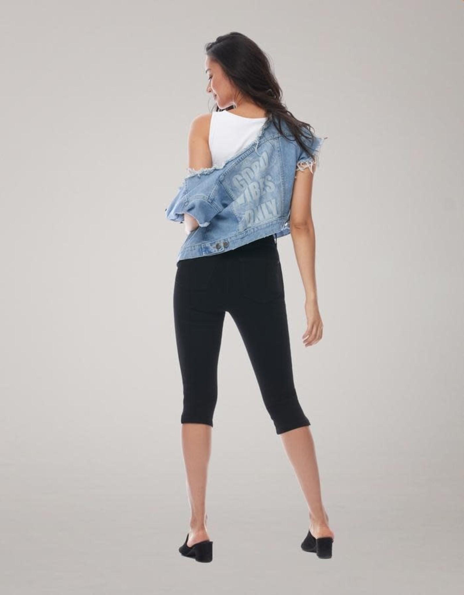 Yoga Jeans Capri High Rise Skinny Rachel 2020 PE20 Yoga Jeans