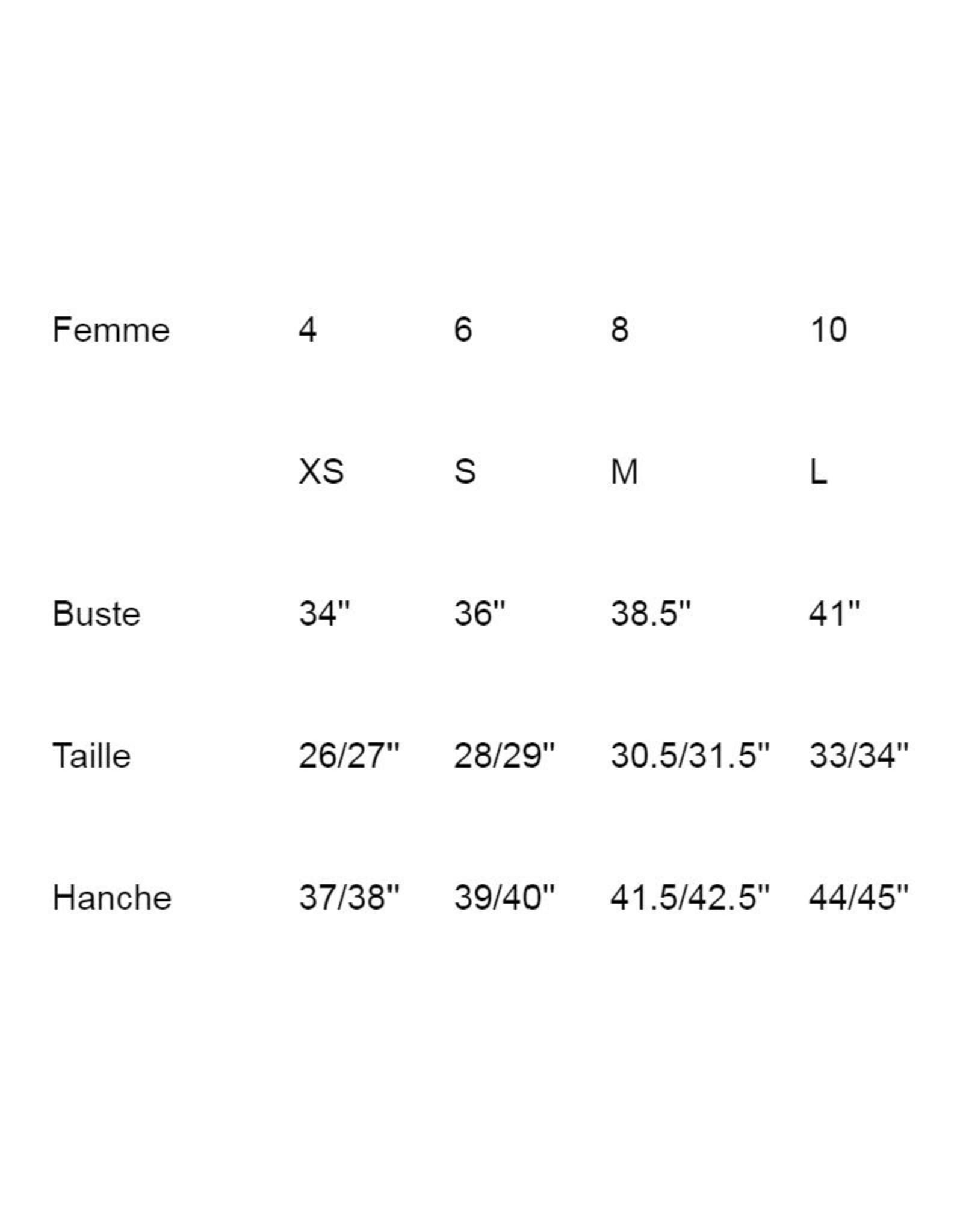 Annie 50 Top Manon AH2021 Annie 50 Fleurs Moutarde