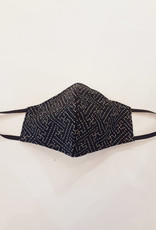 Naked and Famous Masque de protection Naked & Famous Sashiko Pattern (S/M)