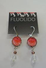 Fluolido Boucles d'oreilles Pendentif Fluolido Push