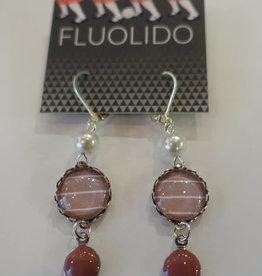 Fluolido Boucles d'oreilles Pendentif Fluolido Matin d'hiver