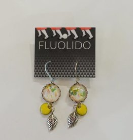 Fluolido Boucles d'oreilles Pendentif Fluolido Printemps