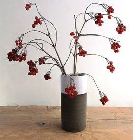 Atelier Trema Vase cylindrique Atelier Trema Gris