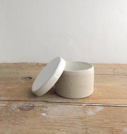 Atelier Trema Pot à sel ou sucre Atelier Trema Blanc